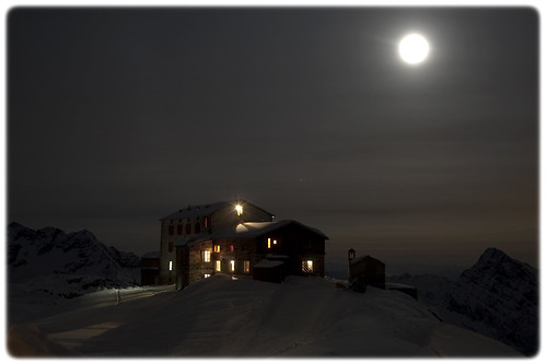 Snow Moonlight at 3.000 mt