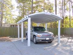 SteelMaster Steel Single-Car Carport