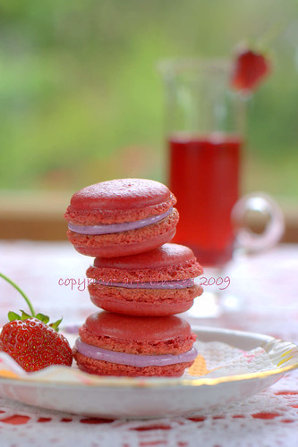 Very Berry Macarons