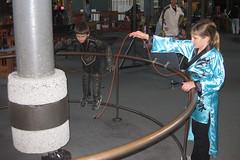 small magnet, big pendulum