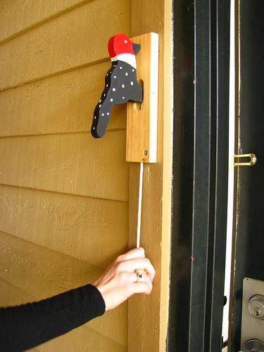 Woodpecker Doorknocker
