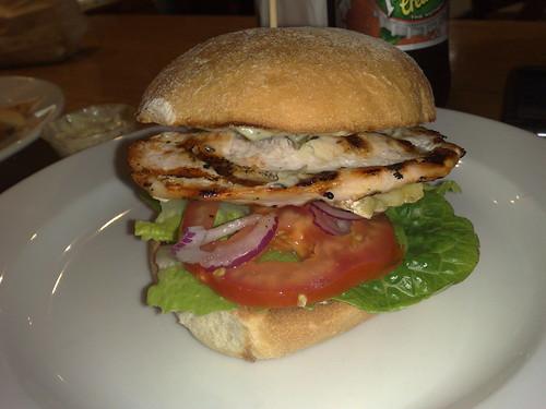Grill'd Bird 'n' Brie burger