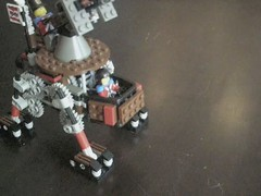 Anti-Aircraft Steam Quad-Walker Mk. XLIII (video) (aillery) Tags: war lego military great steam walker motor machines windup motorized steampunk antiaircraft pullback