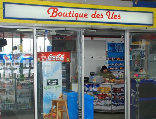Boutique des îles