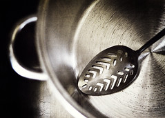 Silver {Gramma's Spoon} (VictoriaScreams) Tags: silver stainlesssteel sink spoon ecko eterna sixtyfourcolors nellynerosgrungeaction