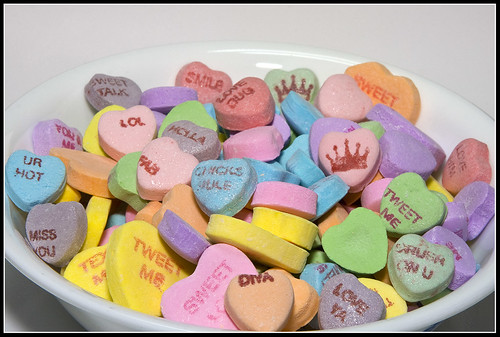 Conversation Hearts ~ New Dazzled Conversation Hearts & Others ...