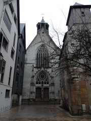 Eglise des Carmes, dite aussi Saint-Saturnin, Tours, 29 janvier 2010.
