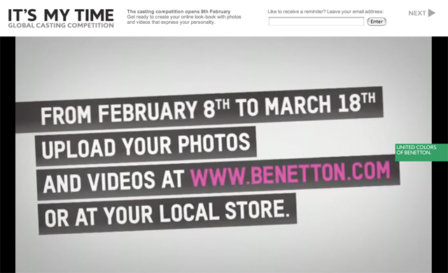 Benetton Its My Time 04