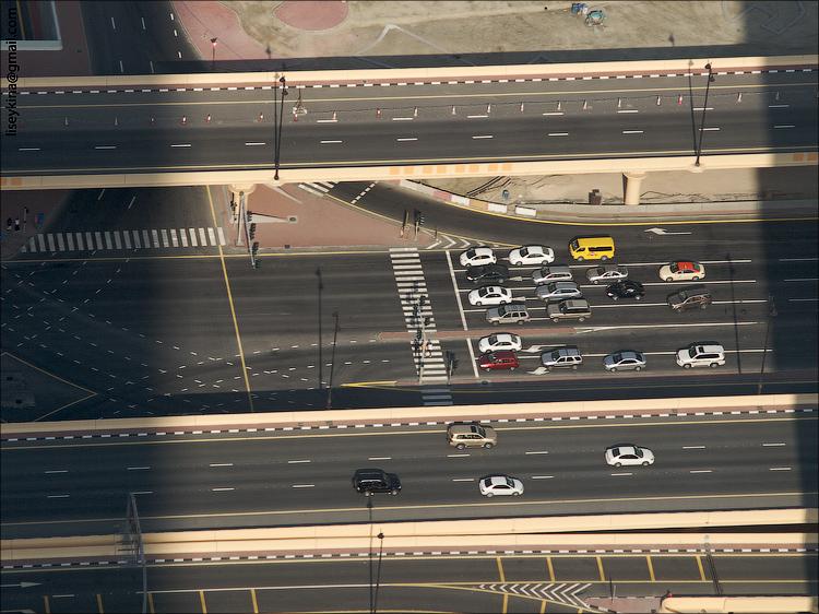 Dubai. View from Burj Khalifa