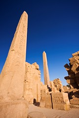 The Obelisks of Hapshetsut (Matt Champlin) Tags: life old archaeology nature writing ancient egypt middleeast queen kings egyptian temples obelisk huge historical obelisks monuments karnak luxor ramses hieroglyphics hatshepsut ramsesii towering