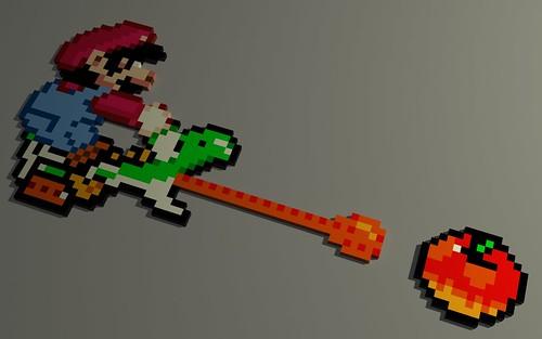 Block Mario world