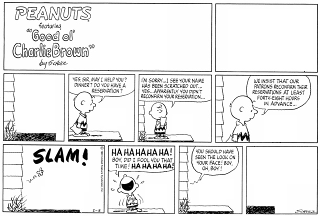 Peanuts Minus Snoopy with Charlie Brown