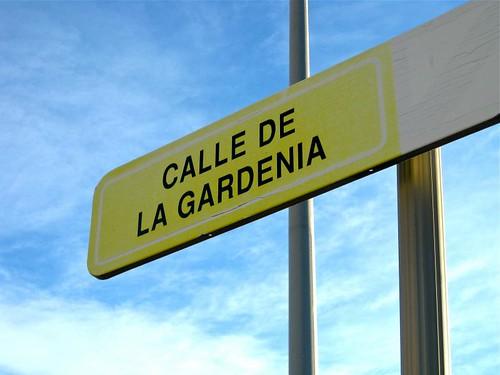 """Jardines de la calle """"La Gardenia"""""""