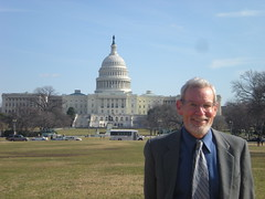 Mark in Front of Capitol Building