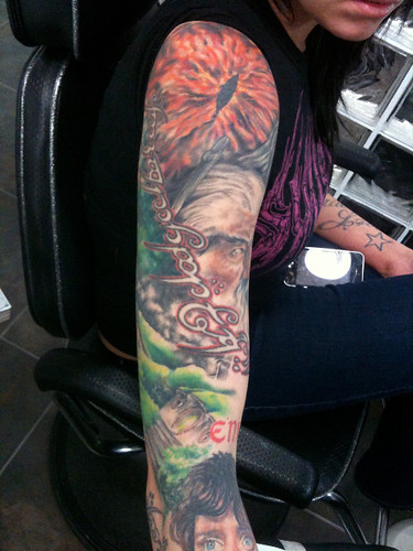 Lord of the Rings sleeve - In Progress