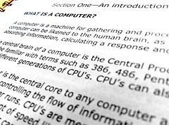 What is a Computer? (teachernz) Tags: computer text 365 printedword project365