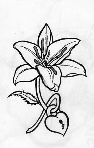 tattoo lily. Lily Tattoo