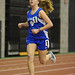 Lauren Sara of Bunnell running in the 3200m. Sara set a new Class L record in the 3200 with a time of 11:00.47