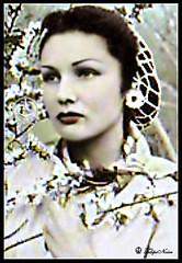 H.H. Princess Fawzia Of Egypt (C) - Tehran In 1940's (Tulipe Noire) Tags: portrait iran princess egypt middleeast persia 1940s egyptian wife colored empress reza mohamed shah pahlavi fawzia