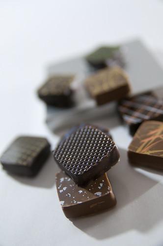 Chocolat Métal Boîte, Jacques Genin, Salon du Chocolat Tokyo 2010, Shinjuku Isetan