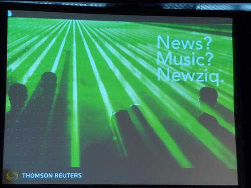 News + Music = Reuters Newziq