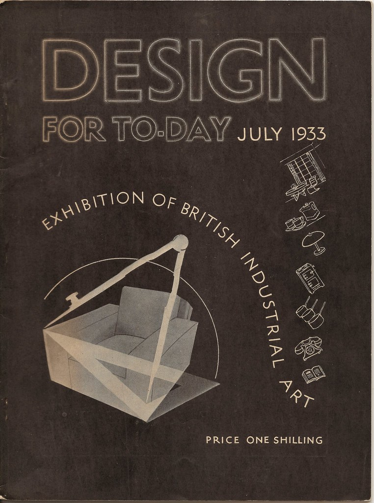 Design for Today - the magazine of the Design & Industries Association - July 1933