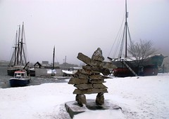 Winter Olympics Inuksuk from Canada in Norway #5