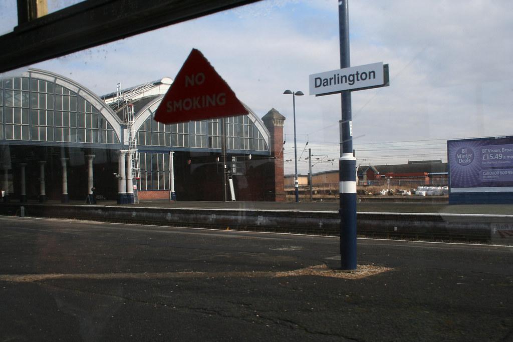 Darlington. This is Darlington