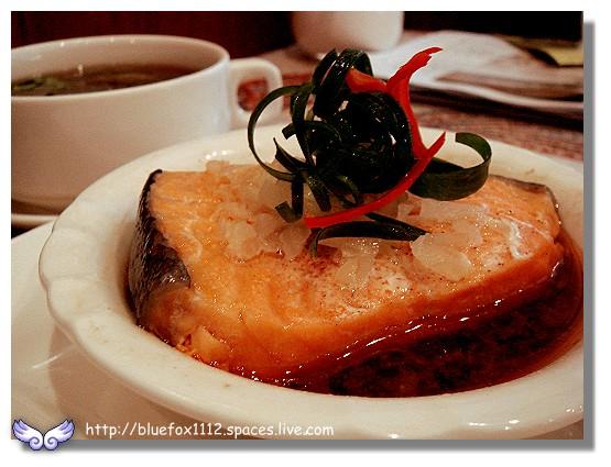 100219-1巴登咖啡06_香蒜鮭魚套餐