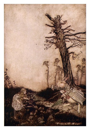 003-Alice's adventures in Wonderland-1907- Arthur Rackham