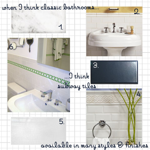 Bathroom Wall Tile Options