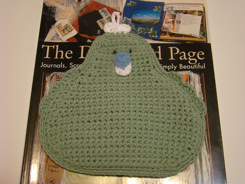 Day 26:  chicken potholder