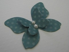Blue Butterfly (JustScrappinHappy) Tags: pink blue coral scrapbooking paper easter fun cards spring handmade buttons crafts tag magic pearls card embellishment button embellishments polkadot prettyflowers etsyshop shessocrafty craftaday arainbowofcolor allthingsfun