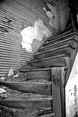 Stairway of Memories (RU4SUN2) Tags: abandoned oregon stairs neglected dirt faded staircase easternoregon