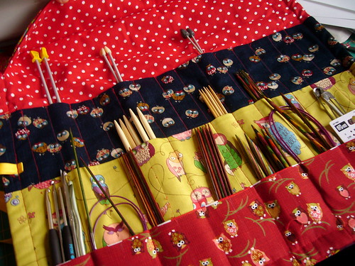 knitting needle case.