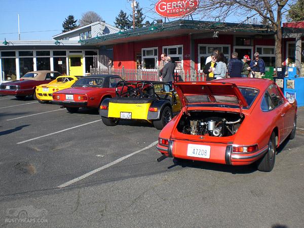 Jaguar, Lotus, Jensen Healey, Lotus, Porsche