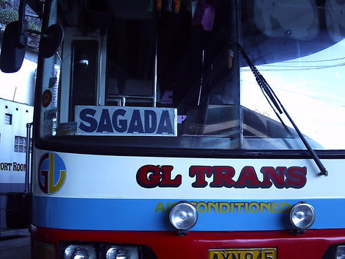 Our bus to Sagada