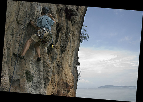 Rockclimbing in Thailand