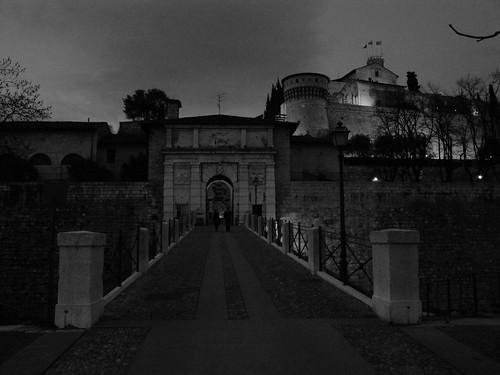 Brescia - Ingresso del Castello
