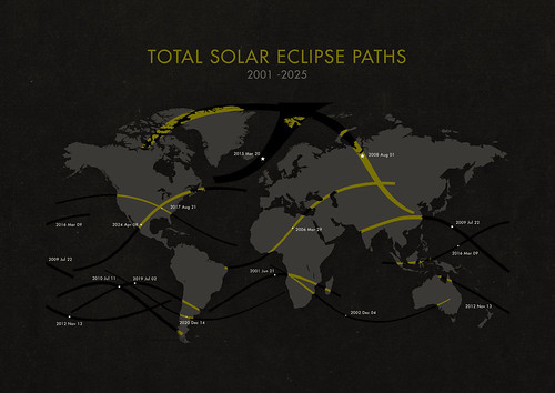 Michael Paukner: Total Solar Eclipse Paths