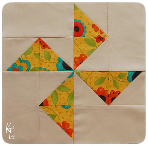 Pinwheel Block #7