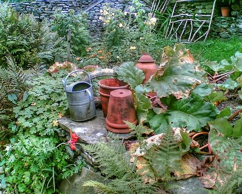 'Mr McGregor's Garden', Beatrix Potter House, Hill Top, Near Sawrey