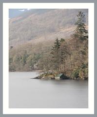 Loch Ard Boathouse (Mac ind g) Tags: winter tree ice walking landscape scotland frozen framed loch milton boathouse trossachs ard thetrossachs lochard lochlomondandthetrossachsnationalpark