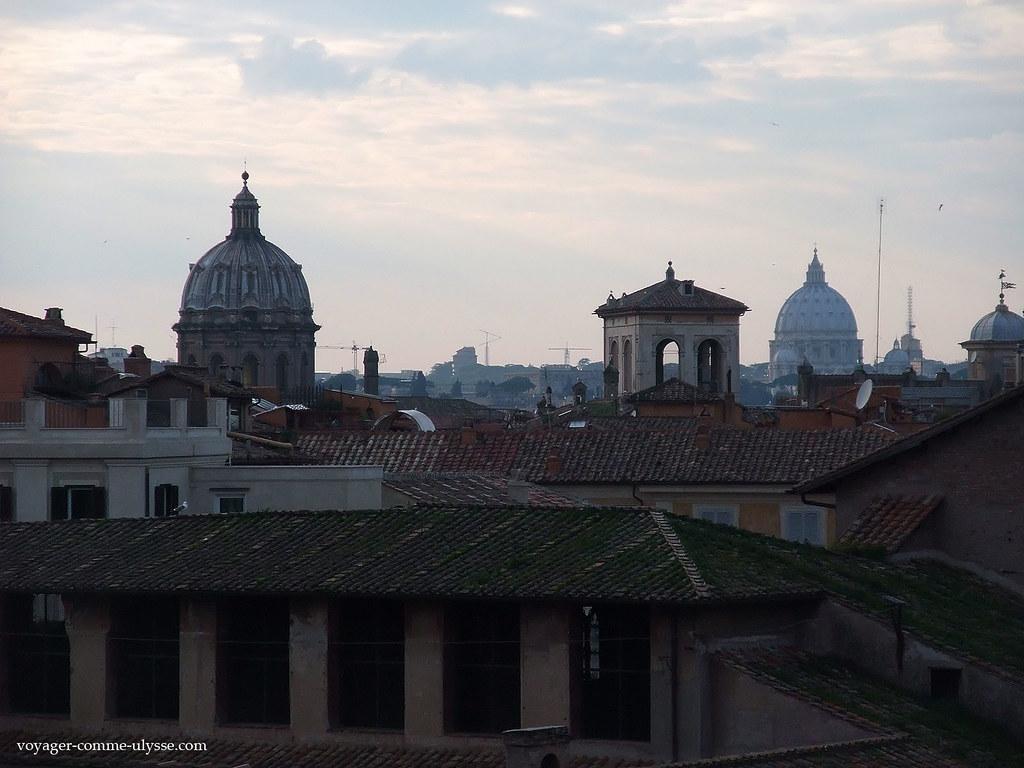 Les derniers étages et leurs terrasses