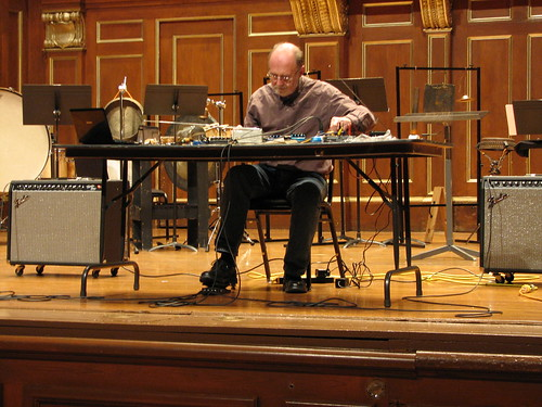 Christian Wolff at NEC Day 3: Keith Rowe 3