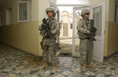 South Carolina Guardsmen provide security at a hospital in Afghanistan (The National Guard) Tags: usa afghanistan hospital soldier army us military southcarolina nationalguard soldiers prt securityforces paktika oef operationenduringfreedom provincialreconstructionteam isaf sharana