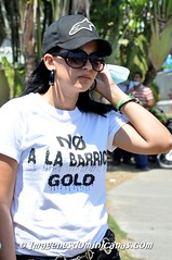 Marcha No Barrick Gold