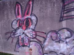 graffiti bunny