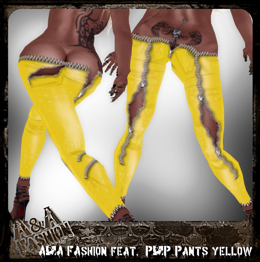 A&A FAshion feat. P&P Pants yellow