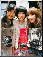 A new group about Girls with Cameras () (wasiwatery) Tags: fujifilm ricoh sinny    gr21 rxp